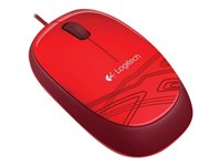 LOGITECH, Mouse M105 red / USB