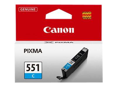 Canon CLI-551C - cyan - originale - réservoir d'encre