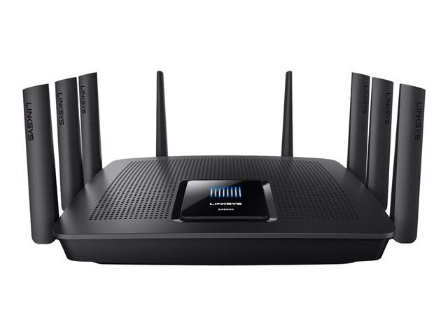 Image of Linksys EA9500 - wireless router - 802.11a/b/g/n/ac - desktop