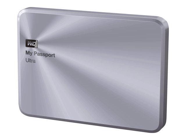 WD My Passport Ultra Metal Edition WDBTYH0010BSL