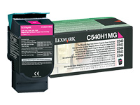 Lexmark Cartouches toner laser C540H1MG