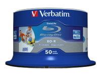 Verbatim DataLife - BD-R x 50 - 25 Go - support de stockage