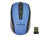 Gear Head Wireless Optical Nano Mouse MP2125BLU