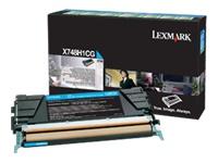 Lexmark Cartouches toner laser X748H1CG