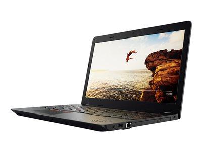 "Lenovo ThinkPad E570 20H5 - Core i3 6006U / 2 GHz - Win 7 Pro 64-bit (includes Win 10 Pro 64-bit License) - 4 GB RAM - 500 GB HDD - DVD-Writer - 15.6"" 1366 x 768 (HD) - HD Graphics 520 - Wi-Fi, Bluetooth - black (LCD cover), black (top cover)"