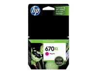 HP 670XL - High Yield - dye-based magenta