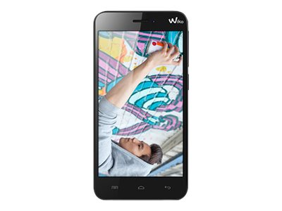 Wiko Jimmy - noir - 3G HSPA+ - 4 Go - GSM - smartphone Android