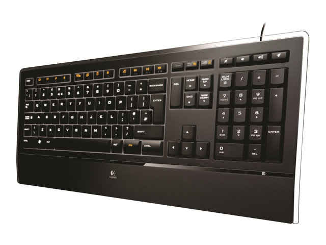 920 005694 Logitech Illuminated K740 Keyboard
