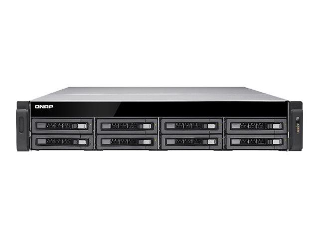 QNAP TS EC880U RP   NAS server   0 GB