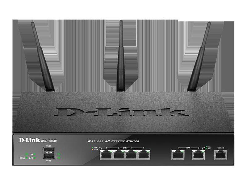 D-Link DSR-1000AC - trådløs ruter - 802.11a/b/g/n - stasjonær DSR-1000AC