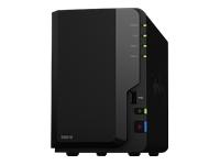 Synology Disk Station DS218 NAS-server 2 bays SATA 6Gb/s