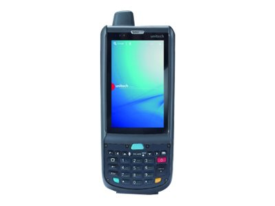 "Unitech Rugged Mobile Computer PA692A - Data collection terminal - Android 4.3 (Jelly Bean) - 8 GB - 3.8"" color TFT (800 x 480) - rear camera - barcode reader - (2D imager) - USB host - microSD slot - Wi-Fi, Bluetooth - 4G"