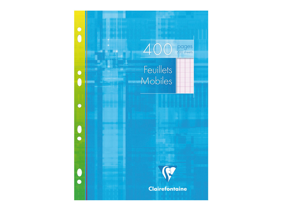 Clairefontaine - A4 - Copies simples - 21 x 29,7 - 400 pages - Grands carreaux