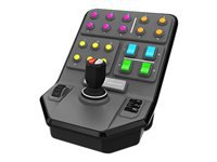 Logitech Heavy Equipment Side Panel Flyvesimulatorcontroller kabling