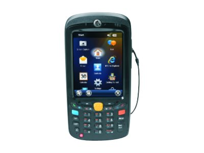 "Motorola MC55A0 - Enterprise - data collection terminal - Win Mobile 6.5 Classic - 1 GB - 3.5"" color (640 x 480) - rear camera - barcode reader - (laser) - Wi-Fi, Bluetooth - gray"