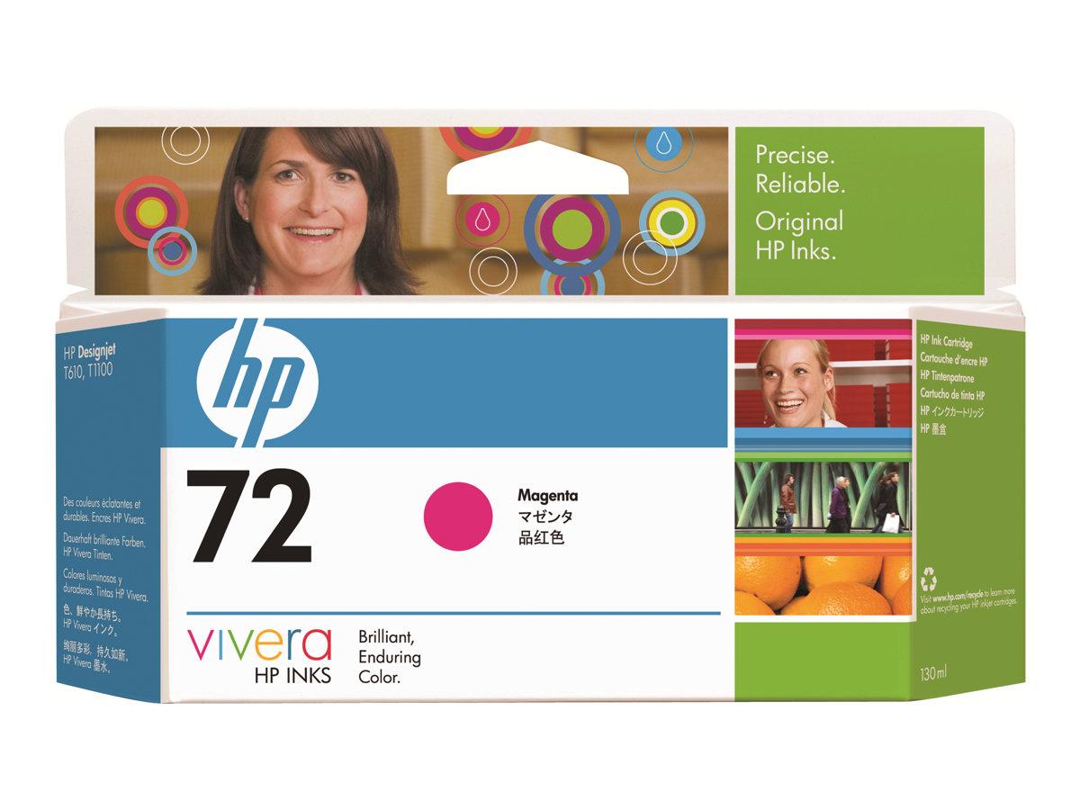 HP 72 xl - 130 ml - magenta - originale - cartouche d'encre