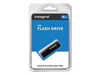 Integral Europe Cl�s USB INFD16GBBLK.