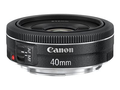 Canon EF - Objektiv - 40 mm - f/2.8 STM - Canon EF - pro EOS 1100, 1D, 5D, 60, 600, 650, Kiss X5, Kiss X50, Rebel T3, Rebel T3i, Rebel T4i