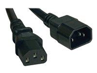 TRP Cable Alimentacion C14 a C13 30.48 cm (1 pie) IEC-320