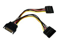 STARTECH - CABLES StarTech.com 6in SATA Power Y Splitter Cable AdapterPYO2SATA