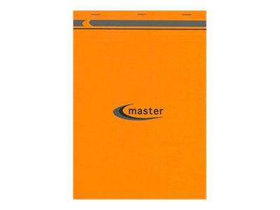 Clairefontaine Master A4+ - Bloc- notes - 210 x 318 mm - 200 pages - Petits carreaux - à l'unité ou par 5