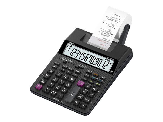casio hr 150rce calculatrice avec imprimante lcd 12 chiffres avec ou sans adaptateur. Black Bedroom Furniture Sets. Home Design Ideas