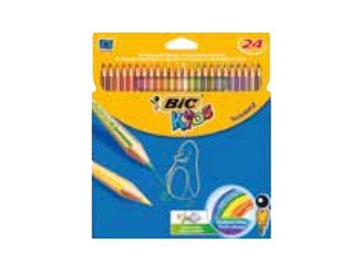 bic kids tropicolors 2 crayons de couleur par 12 18 ou. Black Bedroom Furniture Sets. Home Design Ideas