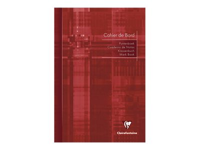 Clairefontaine - Cahier de bord - A4 - 72 pages