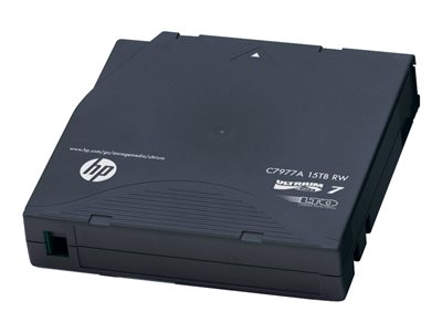 HPE Ultrium RW Custom Labeled No Case Data Cartridge - 20 x LTO Ultrium 7 - 6 TB / 15 TB - Označeno vlastním čárovým kódem - slídově modrá