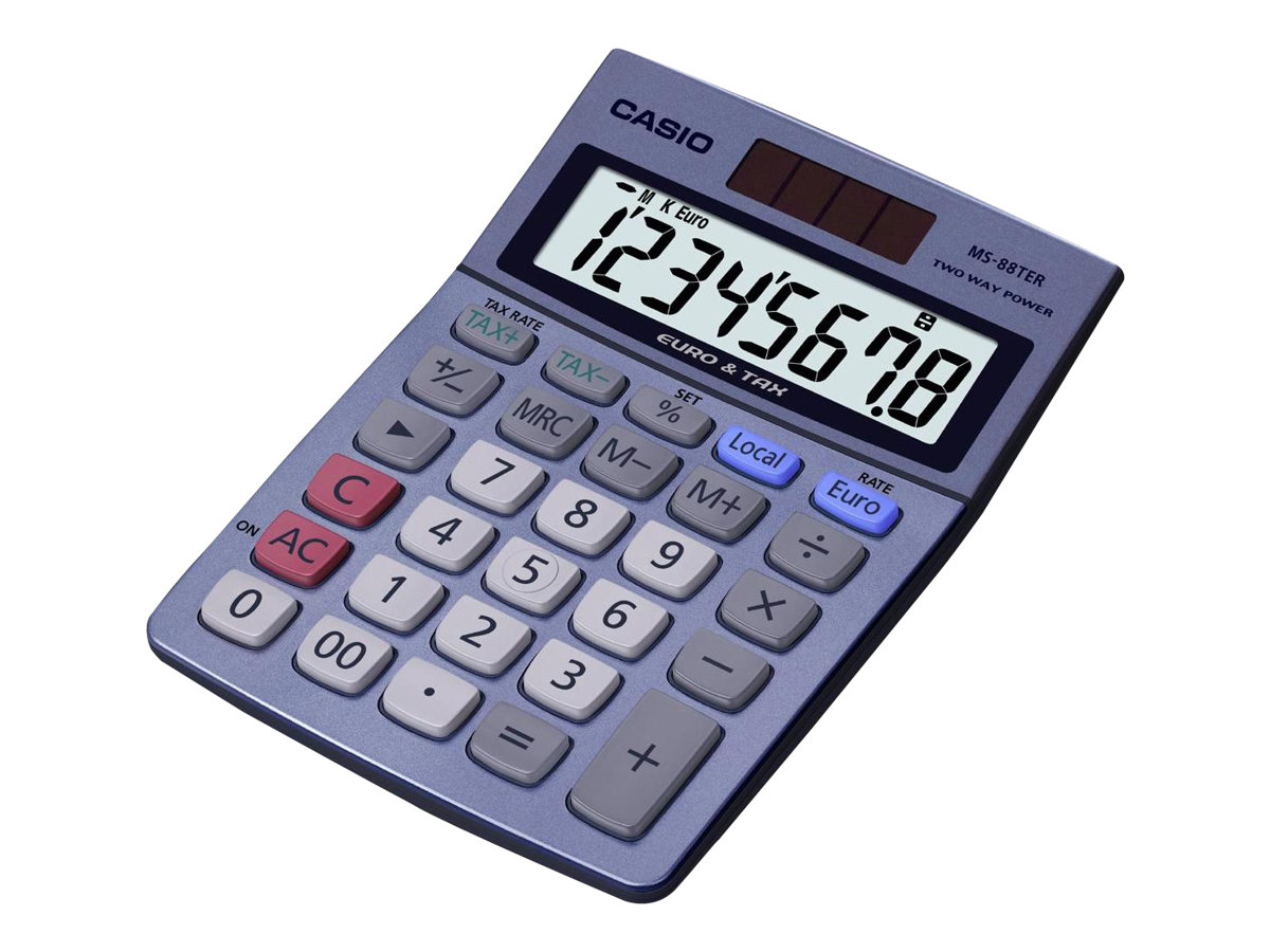 Casio MS-88TER - calculatrice de bureau