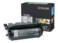 Lexmark, Toner/black 5000sh Prebate f T630 T632