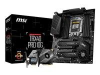 MSI placa madre TRX40 PRO 10G / Chipset AMD