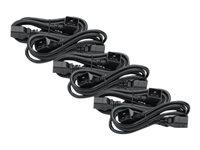 APC Power Cord Kit (6 ea) C19 to C20 (90 degree) 0.6m