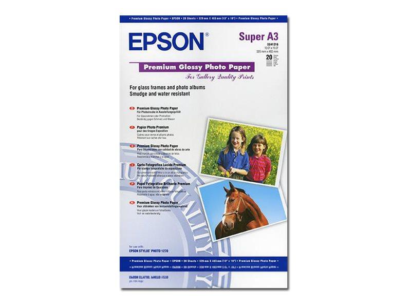 EPSON PREMIUM BRILLANTE SUPER A3B 330 X 483 MM 255