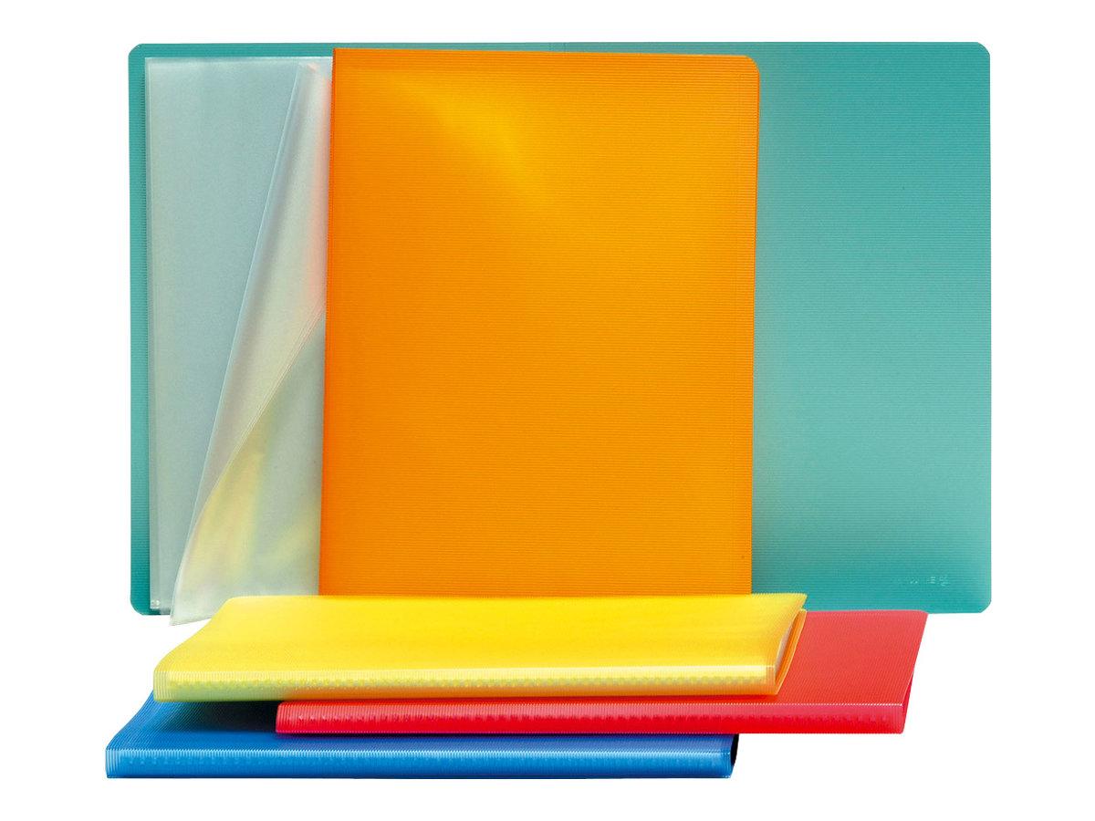 exacompta linicolor porte vues 40 vues a4 disponible dans diff rentes couleurs porte. Black Bedroom Furniture Sets. Home Design Ideas