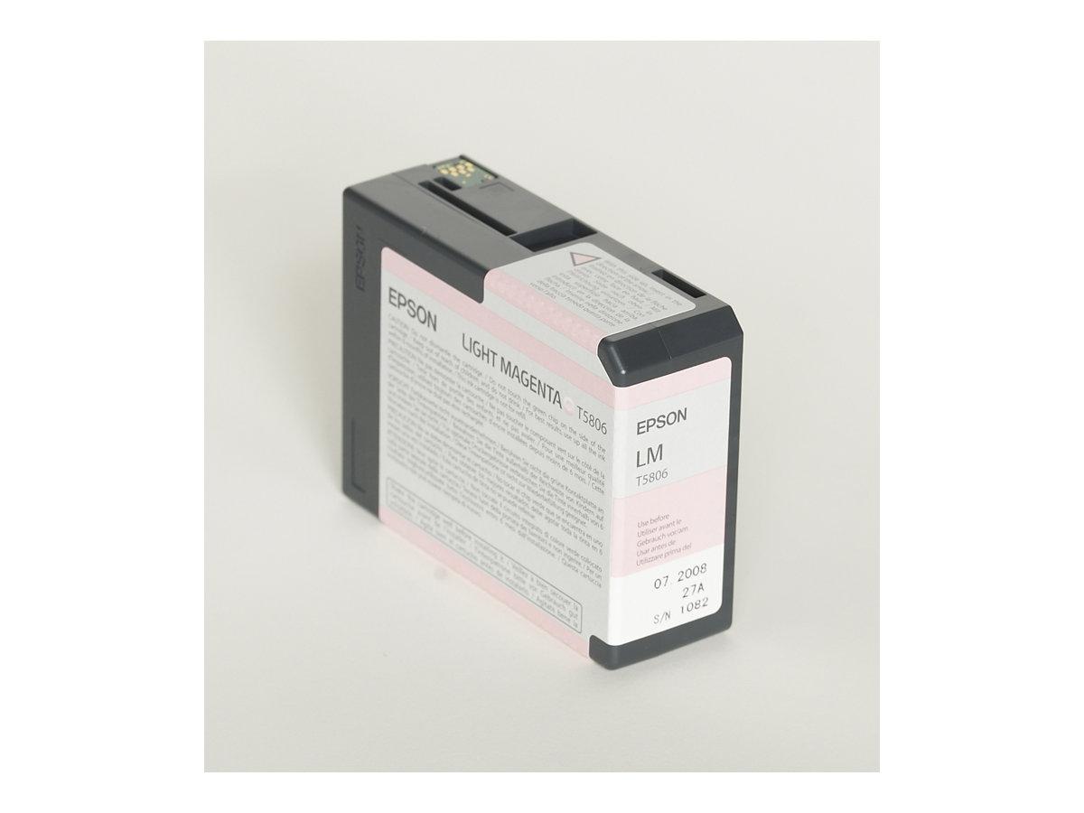 Epson T5806 - magenta clair - originale - cartouche d'encre