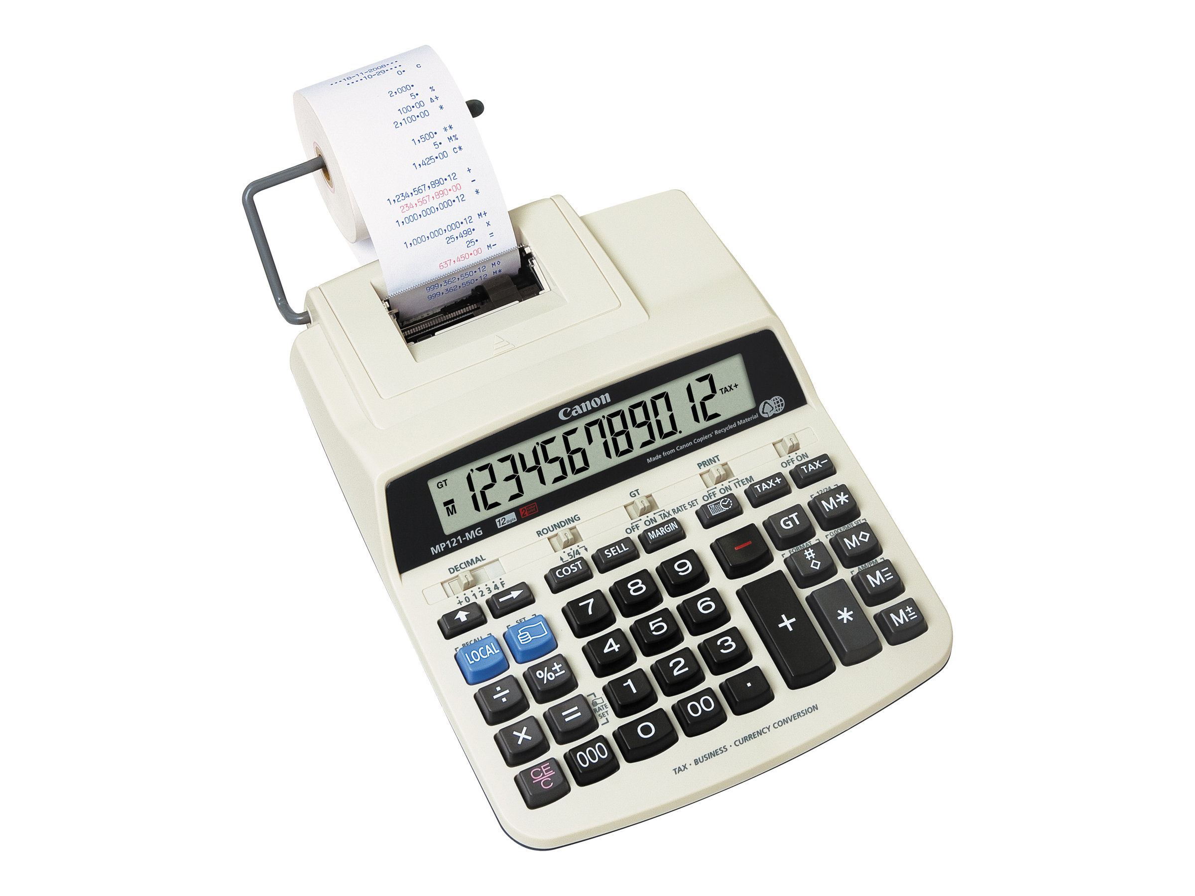 Canon MP121-MG - calculatrice avec imprimante
