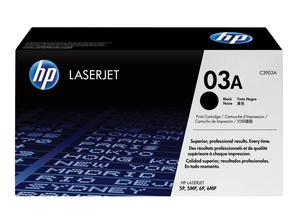 HP 03A - noir - originale - LaserJet - cartouche de toner ( C3903A )