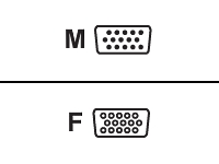 MCAD C�bles et connectiques/Liaison Ecran 138810