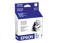 Epson - Black - original - ink cartridge - for Stylus Color 1160, 1520, 740, 760, 800, 850, 860; Stylus Scan 2000, 2500