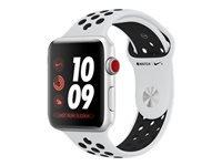 Apple Watch Nike+ Series 3 (GPS + Cellular) 42 mm sølvaluminium