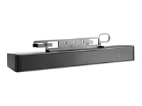 HP LCD Speaker Bar - Speaker - for HP 100, LA1905, LA22, LE19, ZR22, ZR24, ZR30; DreamColor LP2480; Smart Zero Client t410