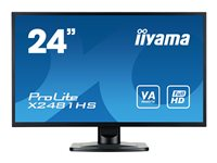 X2481HS-B1/23,6 LED1080p DVI HDMI black, X2481HS-B1/23,6 LED10