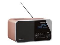 Grundig DTR 4000 DAB+ BT DAB bærbar radio roseguld
