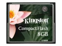 Kingston - carte mémoire flash - 8 Go - CompactFlash