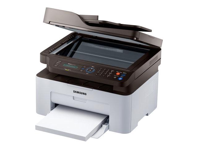 Samsung Xpress M2070FW - Imprimante multifonctions - Noir et blanc - laser - Legal (216 x 356 mm) (original) - A4/Legal (support) - jusqu'à 20 ppm (copie) - jusqu'à 20 ppm (impression) - 150 feuilles - 33.6 Kbits/s - USB 2.0, LAN, Wi-Fi(n)