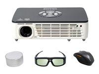 AAXA P450 Pro Pico Projector - DLP projector - 3D - 500 lumens - WXGA (1280 x 800) - 16:10
