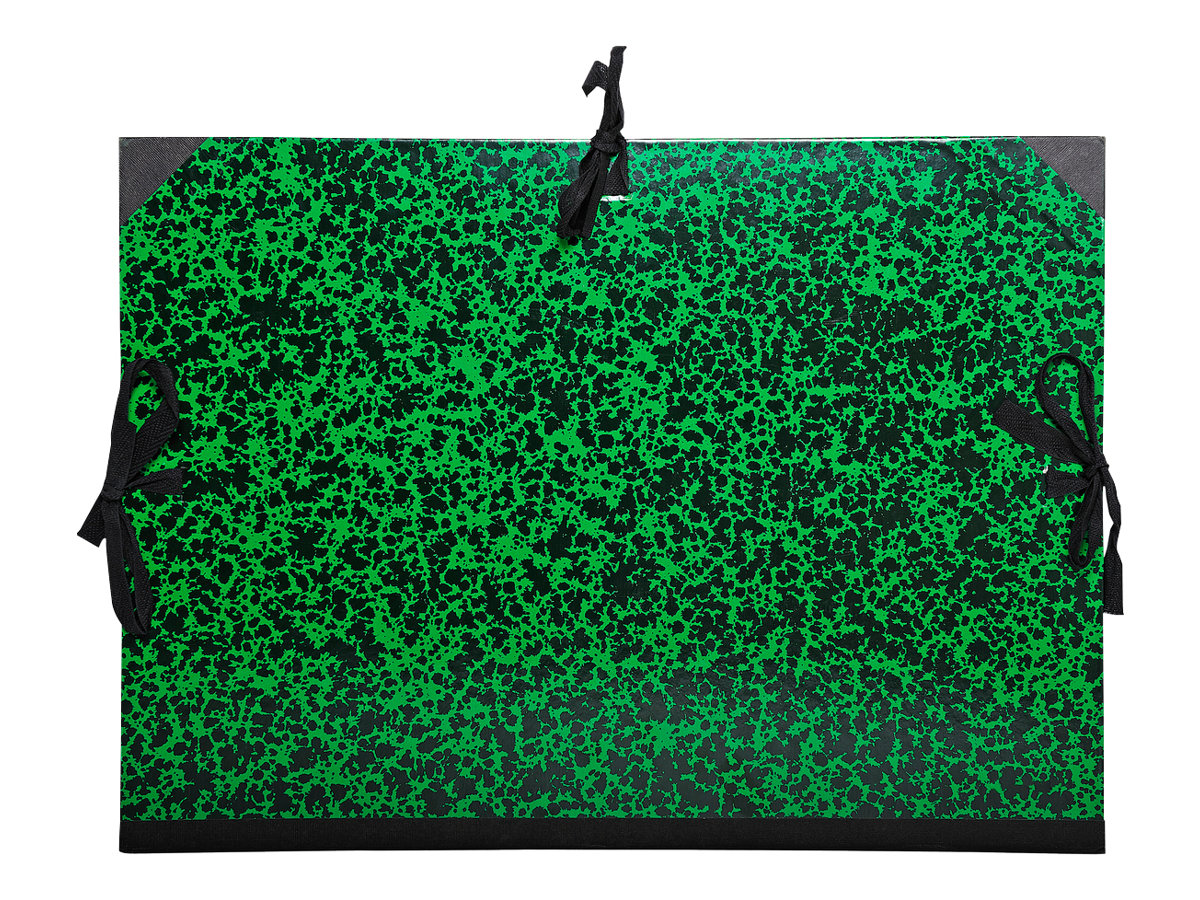 Exacompta Annonay - Carton à dessin - 30 mm - B3 - vert