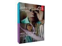 Adobe Photoshop Elements 14 plus Adobe Premiere Elements 14 - ensemble de boîtes