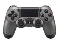 Sony Dual Shock 4 Gamepad trådløs Bluetooth stålsort